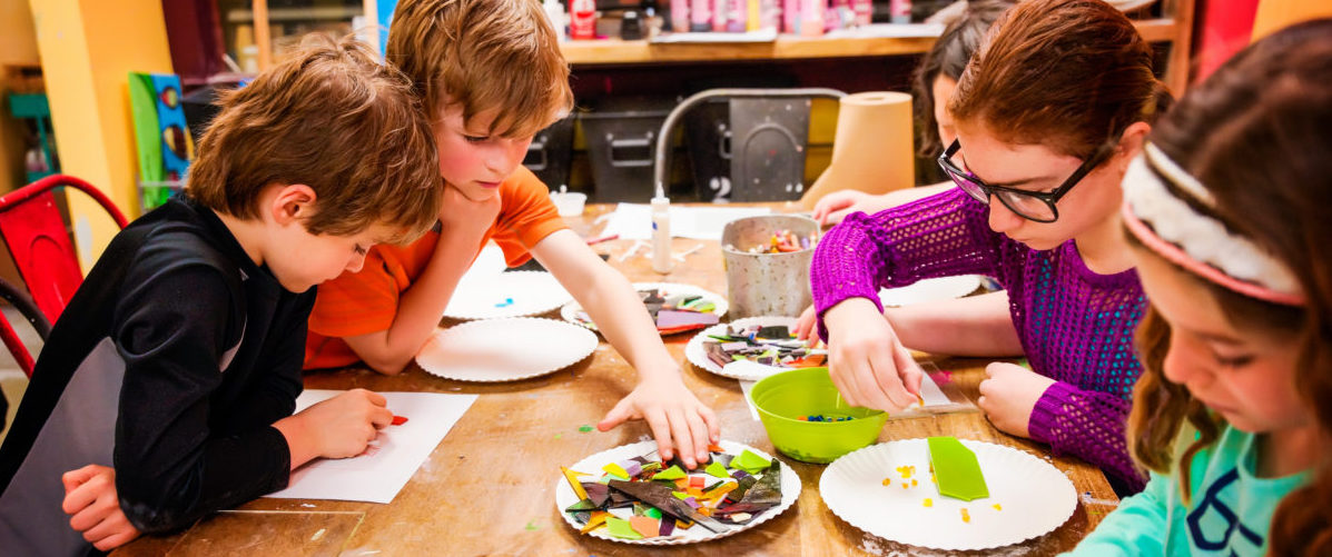 Art Camps are fun! Royal Oak, MI Pottery and Crafts Center Creative Arts Studios