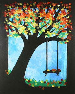 Canvas Painting Creative Arts Studios Royal Oak Pottery