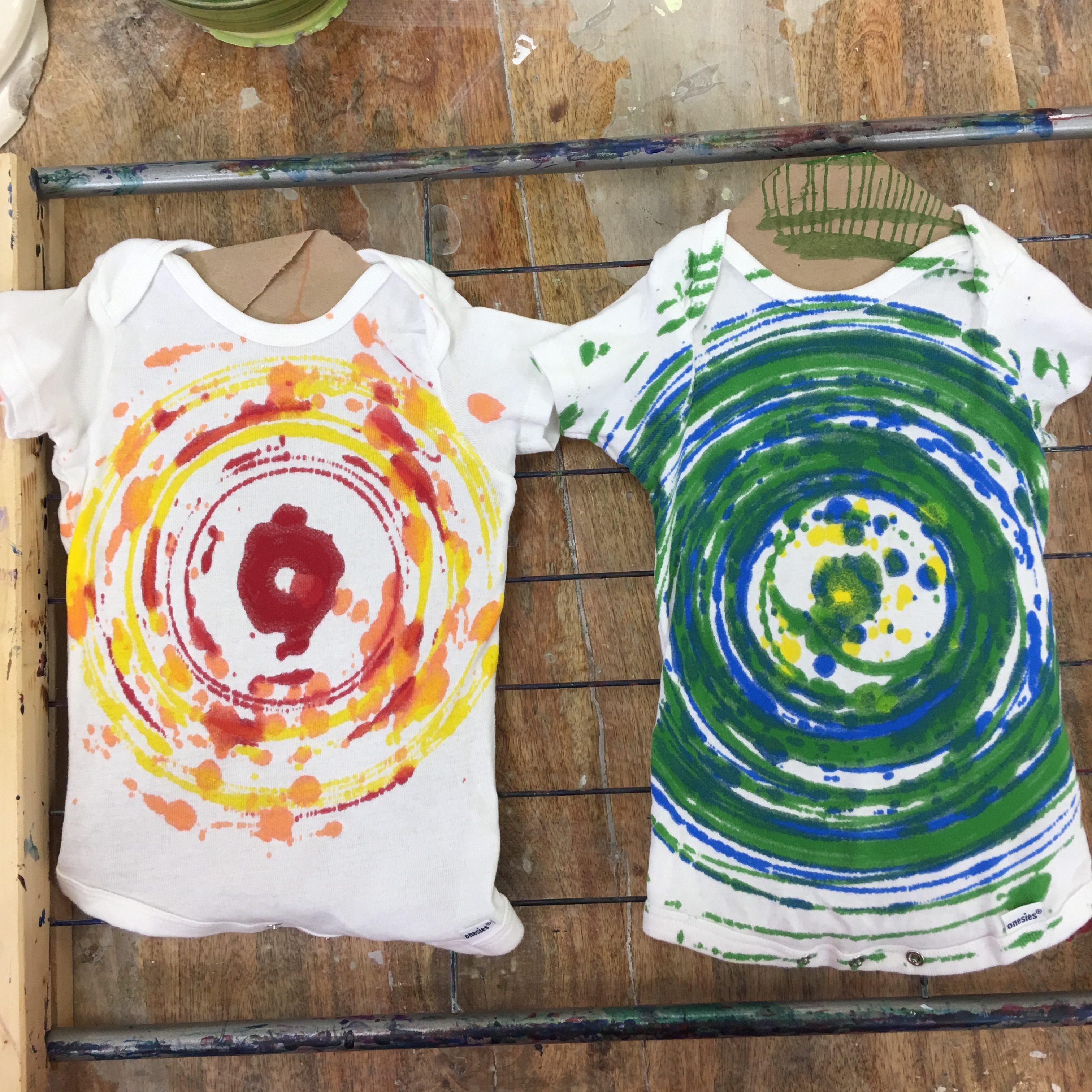 Spin Art Tee Shirts