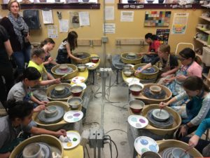 Wheel Throwing Classes Art