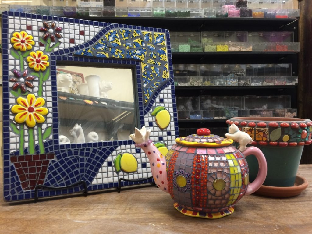 Mosaic Art Pottery